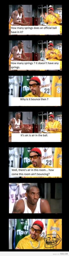 Ali G trollin' Kobe Bryant