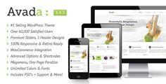 Avada - No.1 Multi Purpose Responsive WordPress Theme of Themeforest