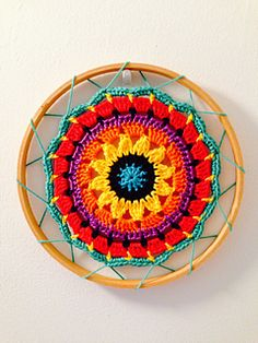 Mini Mandala free pattern on ravelry