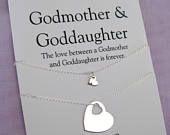 GODMOTHER Gift. GODMOTHER Goddaughter // Goddaughter Godmother Gift // Godmother Gift. Gift for Godmother. Godchildren