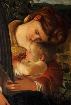 Caravaggio (1571-1610), Rest on the Flight into Egypt (Detail) Oil on canvas, 1597