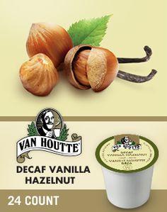 Vanilla Hazelnut Decaffeinated Coffee K-Cup® packs by Van Houtte - Keurig.ca