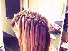 Love.  #hair #updo #braid #hairstyle