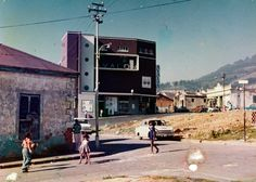 View of Avalon Cinema from Russell Street District Six Museum