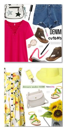 """""""Newchic Women"""" by arohii ❤ liked on Polyvore featuring Marc Jacobs, Lapcos, Bulgari, MAC Cosmetics, Charlotte Russe, Estée Lauder and Cornetti"""