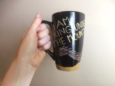 Smaug mug hobbit mug by EsPaintingsNThings on Etsy
