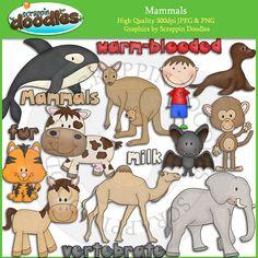 Mammals Clip Art