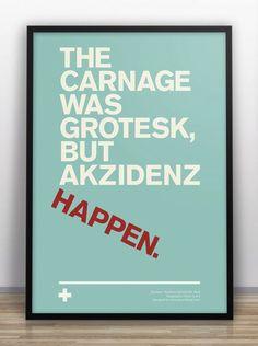 Designer Creates Typographical Jokes, To Humor Fellow Designers - DesignTAXI.com