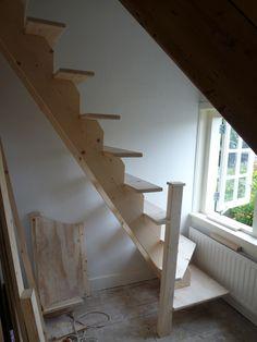 Vervanging vlizotrap voor vaste trap myn timmerwerk pinterest - Sofa kleine ruimte ...