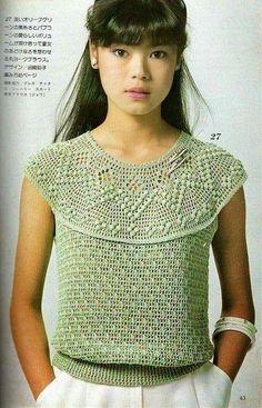Letras e Artes da Lalá: Blusas de crochê (sem receitas, encontradas na internet)