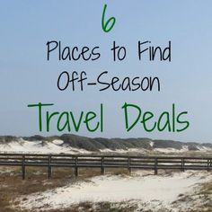 Off-season travel is a great way to hold your travel budget in check. Both prices and crowds are smaller during the offseason at destinations around the world. Check out these 6 Places to score good Travel Deals.