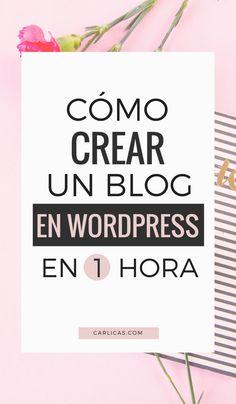 Cómo hacer un blog en Wordpress y trabajar desde cualquier parte del mundo mientras ganas dinero por internet. #wordpress #empezarunblog #blog #emprendimiento #emprendimientoideas #bloggers #emprendedores #emprendimientodigital #emprendimientoonline