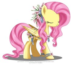 May Festival Pony - Fluttershy by selinmarsou.deviantart.com on @deviantART