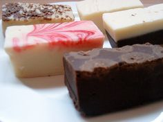 Fudge you can make in five minutes? In the microwave? With three ingredients? Fuhgeddaboudit. Seriously, where has this fudge recipe been all my life?...
