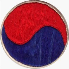 Patch of the Korean Military Assistance Group, as it looked at the outbreak of the Korean War. These were the only US Troops in South Korea when the north invaded in 1950.