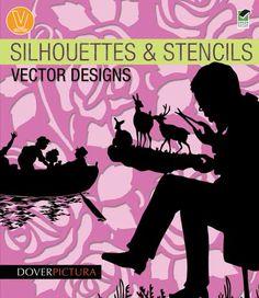 Silhouettes & Stencils Vector Designs