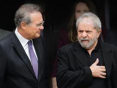 Lula quer chamar Renan Calheiros e Romero Jucá como testemunhas na Lava-Jato | VEJA.com