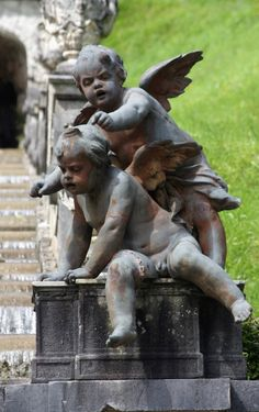 statue ange amour ch rubin enfant anges sculpture hauteur 54 cm puttis pinterest sculpture. Black Bedroom Furniture Sets. Home Design Ideas