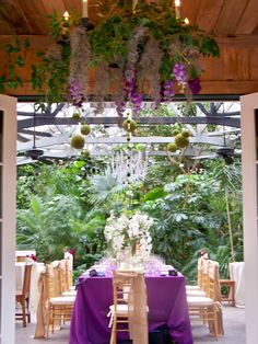 Conservatory at Magnolia Plantation | Designed by Engaging Events | Charleston SC