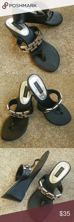 White House Black Market Leader Sandals White House Black Market Leader Sandals. Worn only once perfect condition. White House Black Market Shoes Sandals