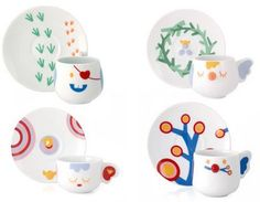 Pepe and Friends is a collection of the most adorable tableware you will see. The little characters have the cutest impressions on their faces, they look good on their own.. but definitely better together. Waking up to tableware this cute will surely brighten up your day. Now, let's meet the characters: