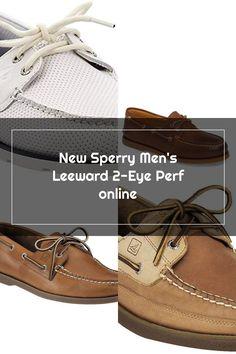 New Sperry Men's Leeward 2-Eye Perf fashion mens shoes. [$42.48] topallbestsellers Fashion is a popular style Boat Shoes, Men's Shoes, Sperrys Men, Mens Fashion, Popular, Eyes, Style, Moda Masculina, Swag