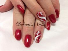 Christmas Candy Chic by ChelseasNails from Nail Art Gallery