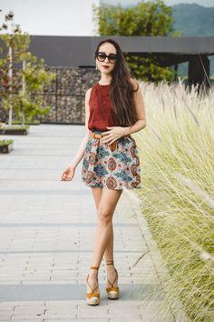 #FashionbySiman & Red Rosy Chic: Un look femenino que te haga lucir a la moda en tu día a día.