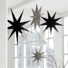 Design Vintage | Grey 9 Point Star | 60cm Star | House Doctor