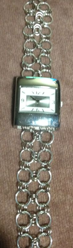 Chainmaille watch band  June 7, 2014
