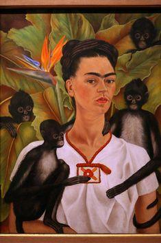 Autoportret z Małpami, Frida Kahlo / Fot. DESRUS BENEDICTE/SIPA, EAST NEWS