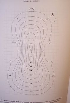 Sacconi Arching Contour Plan | The contour map I'm using as … | Flickr