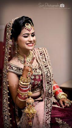 "Suri Photography ""Portfolio"" album - Bride in Amazing Saree Gown. Indian Bride Photography Poses, Indian Bride Poses, Indian Wedding Poses, Indian Bridal Photos, Wedding Couple Poses Photography, Hindu Wedding Photos, Bridal Portrait Poses, Beautiful Indian Brides, Bridal Photoshoot"