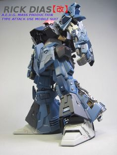 GUNDAM GUY: MG 1/100 Rick Dias Kai - Custom Build