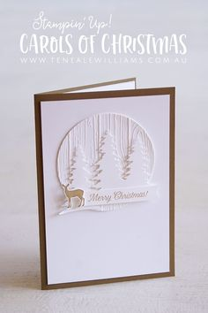 The weeks are ticking down to Christmas. How is your Christmas cardmaking going? I hope you have picked up a little inspiration over the past 7 weeks while Barbara (Mum) and I have been sharing our 12 weeks of Christmas cards. This week, I selected Carols Of Christmas bundle for us to both use. I…