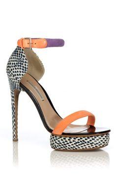 Nicholas Kirkwood Blue Pois Sandal at Moda Operandi | Heel | Open Toe | Stiletto | Pump | Summer Time Fine  <3 @benitathediva