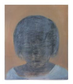 The Quiet Child - She Seeks with Her Eyes Closed  .  oil on board  .  121 x 104 cm.  'The Still Point'  .  Joy Wolfenden Brown