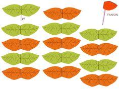 """THEME DE """" LA FORET ENCHANTEE"""" et ses petits habitants - 1 et 2 et 3 DOUDOUS * PATRONS* PATTERNS * GABARITS FETE A THEMES POUR ENFANTS. Drink Straw Flags. http://1et2et3doudous.canalblog.com/archives/2012/09/12/25090098.html"""