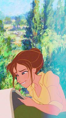 Disney meets Van Gogh - Jane