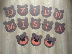 Dzień misia Kindergarten Art, Preschool, Teddy Bear Day, Diy And Crafts, Crafts For Kids, Class Decoration, Classroom Decor, Kids And Parenting, Animals And Pets