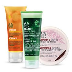Check out the range of Natural and organic skin care products online in India and order online at Thebodyshop.in