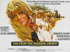 Poster for the 1967 release of Far From the Madding Crowd