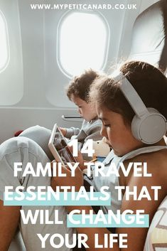 The 14 game changing travel essentials for long flights, road trips, international travel and weekends away. This is the one checklist and packing list you need to keep for your next family vacation! #familytravel #vacation