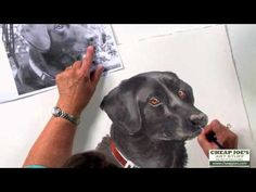 How to Paint a Dog's Face with Watercolor Artist Nancy Couick-Part 3 - YouTube