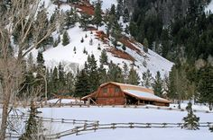 Only in God's Country -- OK I know Wyoming is only part of God's Country but still doesn't this look cozy?!