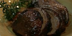 Pork Roast with Rosemary, Quatre-Epices and Honey - This recipe has never failed me.  Love it!