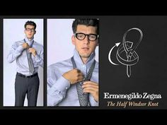 How to Tie an Half Windsor Knot - Ties Around the World - The Knots  - Ermenegildo Zegna
