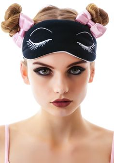 Wildfox Couture I Need A Nap Eye Mask Black One Size