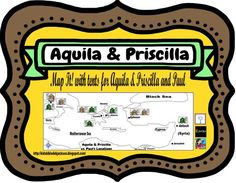 Bible Fun For Kids: Paul With Aquila & Priscilla