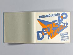 Designers & Books is raising funds for The Bolted Book Facsimile: An Exact Copy of Depero Futurista on Kickstarter! Help us publish the first exact copy of Fortunato Depero's 1927 iconic work of avant-garde graphic design and book-making. Graphic Design Books, Book Design, Seymour Chwast, How To Juggle, Paula Scher, Milton Glaser, Title Page, Book Making, Vintage Books